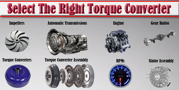 How Does A Torque Converter Work >> How To Select The Right Torque Converter W Pics Video 2016
