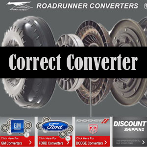 Selecting The Correct Torque Converter For Your Vehicle